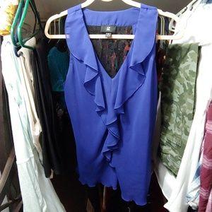 Dress shirt w/ lace back